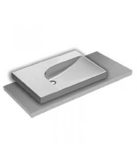 Magnifying mirror with arm knuckle Colombo 20cm chrome without light