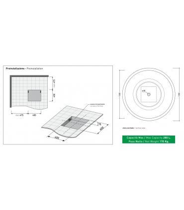 Module for Wall mounted bidet Grohe Uniset