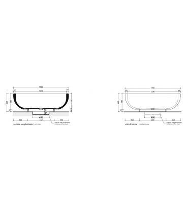 Modulo per bidet sospeso Grohe Uniset art.37578001