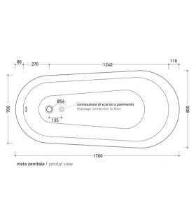Toilet seat with normal closure Ideal Standard Ellisse e Ellisse Piu'