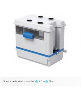 Pompa acque condensa acide per caldaie gas o gasolio, SaniCONDENS Best