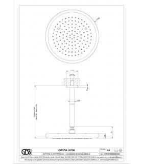 rubinetto sottolavabo 1/2 M con attacco lavatrice 1303000000-CON