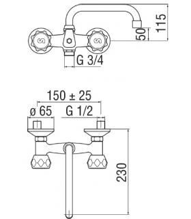 Toilet seat with normal closure Simas Simeto