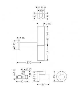 Grohe miscelatore monoforo per lavabo serie allure 23109 cromo.