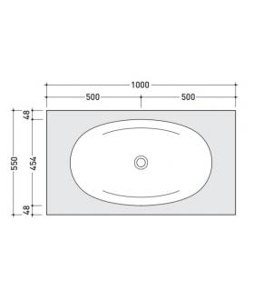 Electric infrared flush plate Sigma10 for cistern Sigma8 Geberit