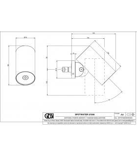 Vasca idromassaggio destra con porta e box For All bianco bocchette bi