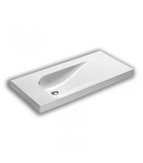 Colonne latéral lavabo hauteur 102 cm City INDA