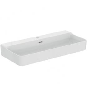 Geromin 7005PRIMACL lavatoio e base 2 ante 50x60cm con cesto, bianco
