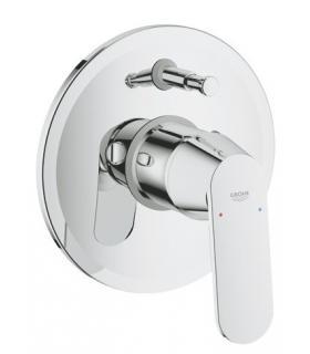 Specchio ingranditore a parete Colombo con illuminazione LED cromo art