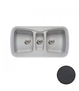 CM stainless steel sink, 1 bowl, 80x50 left