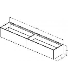 Tappeto bagno Afef 80X50