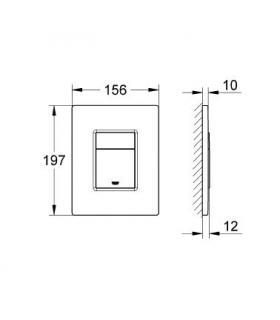 CM lavello acciaio inox, 1 vasca, 90x50 sinistro