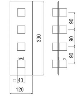 DIRTCAL filter, threaded joints female Caleffi 546
