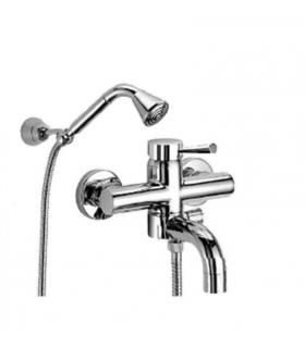 FIR Tilo 733322 Melangeur baignoire  externe, avec   duplex , chrome'