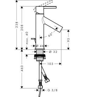 Kit sdoppiatore fumisteria standard, diametro 80/80 per turboMAG Vaill