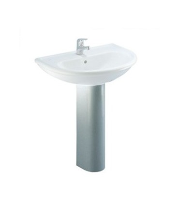 Column Washbasin, ceramic Dolomite collection Clodia