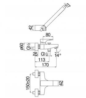 Compteur volumètresque , eau sanitaire , Caleffi 7942