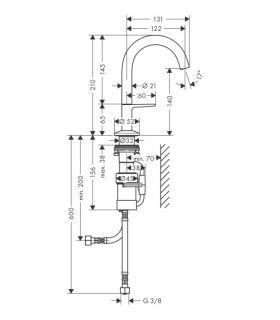 Chauffe-eau de bain chambre ouverte atmoMAG Exclusiv Vaillant