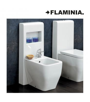 Flaminia set with ledge for bidet, niagara Tr40, white.