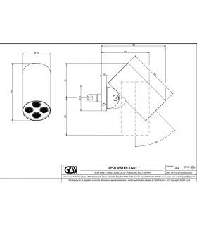 filtro obliquo Caleffi per impianto termosanitario art.577004