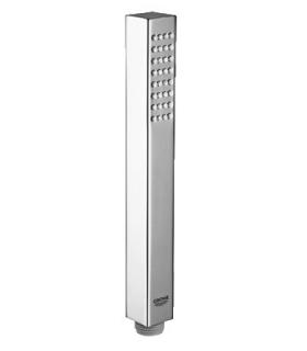 Washbasin square Sanitana collection aida white ceramic.