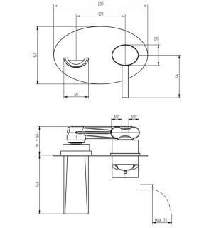 tubo stratificato 1 bicchiere Bampi TEM art.TEM041000