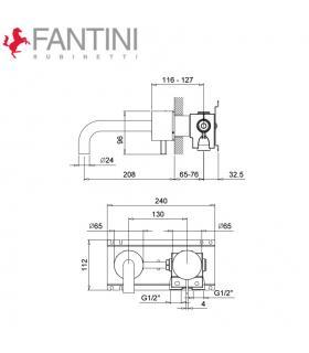 Renforcement de l'âme pour les tubes de polyéthylène DECA Caleffi art.887330