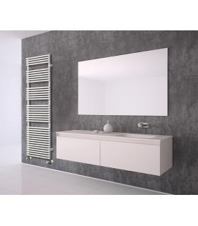 Irsap towel warmer Flauto series with side connections