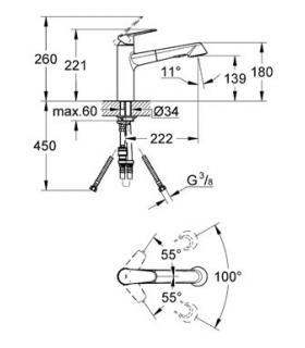 DeWalt DWST1-70703 TSTAK-II toolbox, 13L