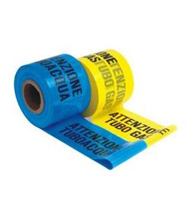 Fimi 04903 gas pipe signage tape, 12.5 cm by 200 meters