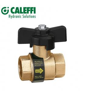 Caleffi 533241 1/2 '' inclined pressure reducer, pressure gauge