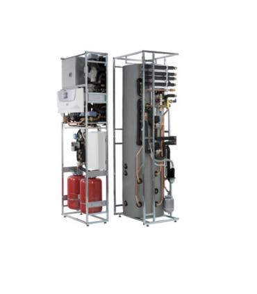 Caldaia a condensazione a basamento per sistemi ibridi Magis Hercules
