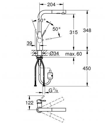 Plaque 2 boutons pour reservoir wc Fantini