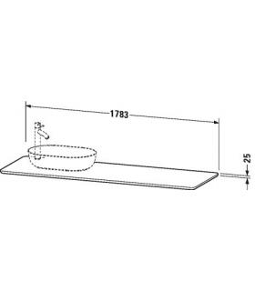 Koh-i-noor miroir grossissant X3 Quadrolo Led  C60/1 chrome' 20x20cm