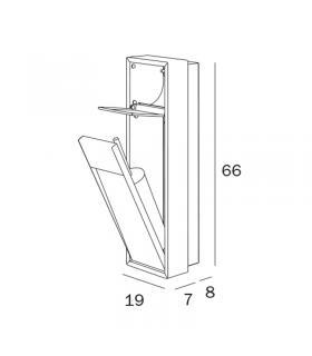 Radiateur mono colonnes, Cordivari, collection Alice