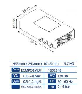 Kit raccordi sostituzione verticale Junkers 1215 7719003263