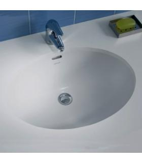Washbasin Sanitana collection anadia white ceramic.