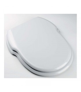 Sanitana Grecia normal toilet seat, white