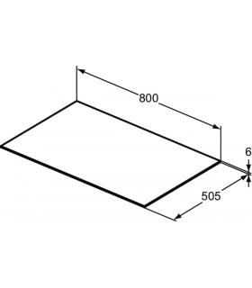 Grohe placca flussometro serie skate 38445 inox/lucido.