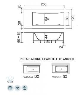 Miscelatore lavabo con scarico Ideal Standard Ceraplus 2 BC097