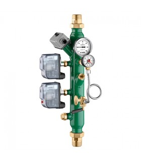 Collector with items holder, double pressure switch Caleffi 335