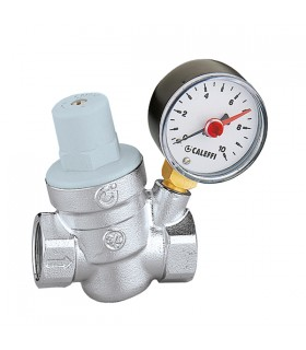 Gearbox and pressure inclined with manometer Caleffi 533