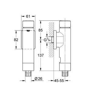 E.Sybox  HP 2 220V elettropompa intelligente DAB 60147200