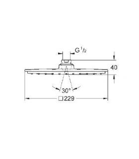 Tecnosystemi 11104042 aspiratore elettrico Circle, diametro 150
