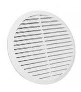 Tecnosystemi 11104094 round grille, diameter 185, spring fixing