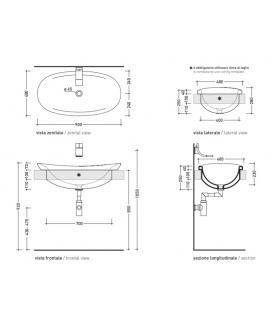 External bath mixer with Ideal Standard Cerafine O BC706 hand shower