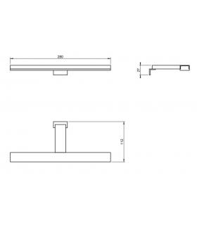 Wall hung toilet Flaminia App AP118G with go clean white