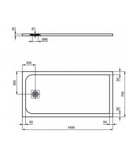 Dining table Orchidea Milano Brooklyn Light 47.2870