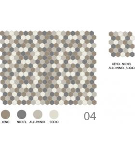 Mosaïque hexagonale CE.SI Full Body 5x5 décoration 04
