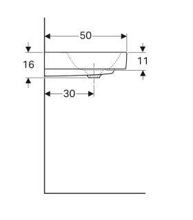 Radiatore verticale Arpa12 allacciamento 01, bianco h 120 cm